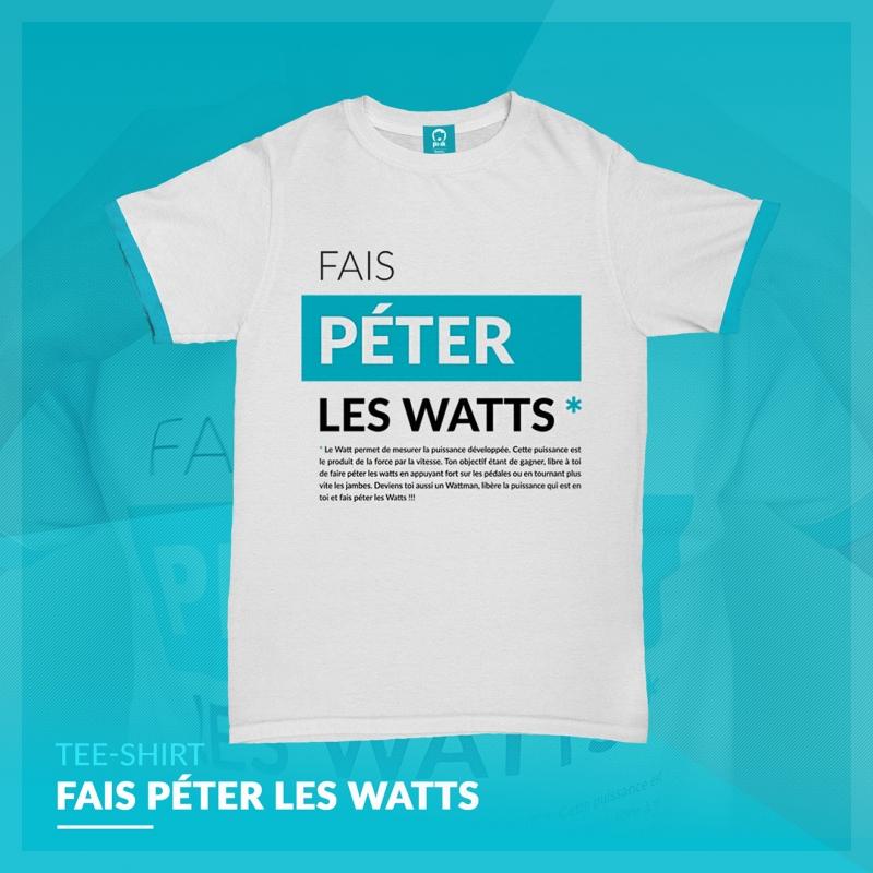 Maillot Fais Péter les Watts